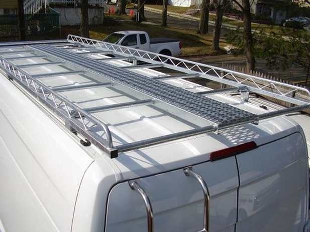 ladder rear door mounted on sprinter
