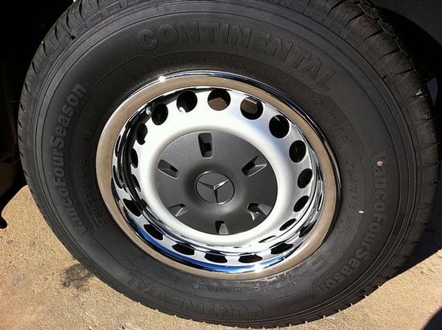 Sprinter Chrome Wheel Trim