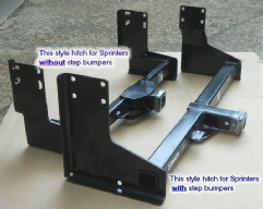 Sprinter trailer hitches